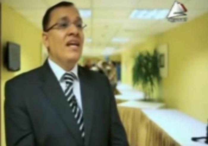 تقرير التلفزيون المصرى عن مرشح الرئاسة محمود رمضان
